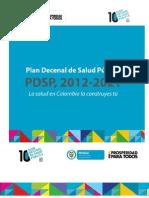 4. Plan Decenal de Salud Pública