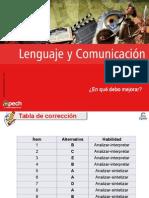 Clase 5 en Qué Debo Mejorar Estándar (LC-011) 2015 CES