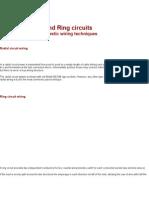 Ring - Radial Wiring