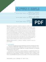 A APLICAÇÃO DE FERRAMENTAS DE INTERAÇÃO EM AMBIENTES VIRTUAIS DE APRENDIZAGEM
