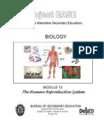 Project Ease Biology Module 13