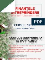 CORPORATE FINANCE 11 - INDICATORII INVESTITIILOR