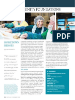 Delta Sky Magazine Feature on Community Foundations -- Julie Kendrick