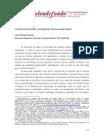 Polifonia Poliacroasis y Polithemata Del Personaje Teatral