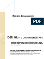 maîtrise_docutmentaire
