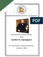 Confesion de Fe Bautista de 1689 -Curso Del Seminario Editado