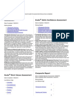 kuder career planning system - combined report fil  2