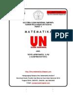 Prediksi UN Matematika SMP Paket 1 2016 Soal