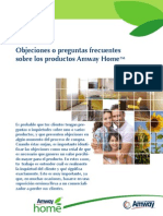 Objeciones - Amway Home