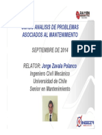 Curso Analisis Problema Asociado Al Mantenimiento (TRANSAP)