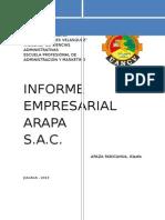 Informe Empresarial Arapa Sac