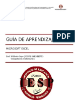 Aprendizaje Excel
