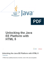 OK OK Unlocking the Java Ee Platform With Html5 Geertjan Wielenga Oracle