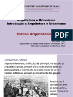 Arquitetura Romana e Bizantina