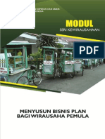 Modul 8 Menyusun Business Plan Bagi Wirausaha Pemula (Revisi 2)