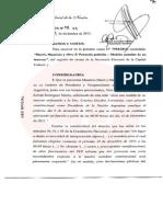 Fallo de Servini que dice que el mandato de Macri comienza a las 0 horas del día 10 de diciembre