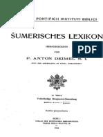 Sumerisches Lexikon by P. Anton Deimel