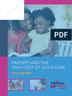 ChildcareParents and the High Cost of Child Care