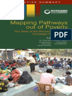 Mapping Pathways out of Poverty, Executive Summary