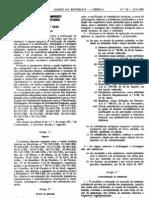 Quimicos - Legislacao Portuguesa - 1995/04 - DL nº 82 - QUALI.PT