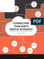 Connecting Thailand's Digital Economy | Unused Spectrum Capacity, MVNOs and Digital Economy in Thailand