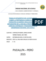 Universidad Nacional de Ucayali - Ecologia