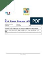 IP v6  Roadmap