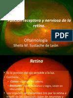 Función Receptora y Nerviosa de La Retina