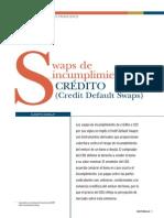 HUMALA, A. Swaps de Incumplimiento de Credito