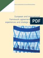 European and international framework agreements
