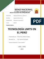Tecnología UMTS en El Perú