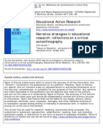 QUICKE - Narrative Strategies in Educational Research - Reflections on a Critical Etnography