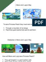 Mario and Luigi Problems