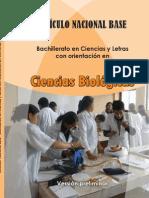 CNB Bachillerato en Ciencias y Letras con orientacion en Ciencias Biologicas (Junio 2014)