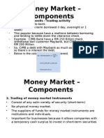 Money Market – Components in Islamic  Finance