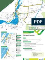 Mobilité Montréal - Plan Continuité - Carte