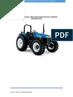 Elementos de transmision de un tractor agricola