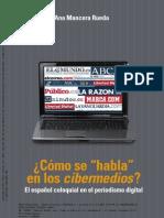 1 - Como Se Habla en Los Cibermedios - Ana Mancera Rueda