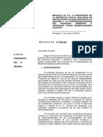Mensaje Presidencial 305/363 Sobre Personal Municipalidades