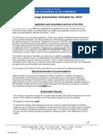 Documents Nca201examschedv7