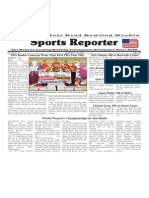 December 9 - 15, 2015 Sports Reporter