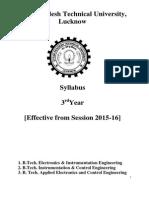 syllabus of ic 3rd year