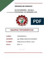 equipos topograficos