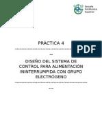 Proyecto grupo electrogeno
