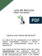 Cultura de Servicio MGA