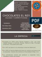Chocolates El Rey -Calidad y Competitividad