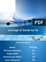 Carriage of Goods by Air