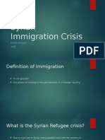 syrian immigration crisis