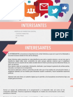 Presentación agencia digital INTERESANTES