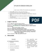 Lesson Plan In Grade 8 Englis1.docx